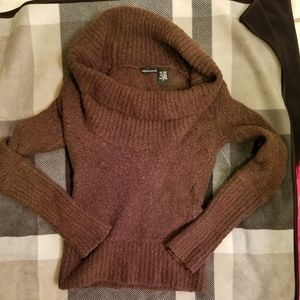 Victoria Secret MODA  small cowl brown sweater